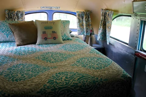 Bus 49! Cozy, vintage converted bus!