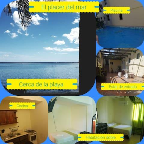 Residencia placer del mar - Boca Chica - Apartamento