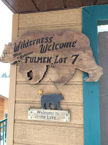 Wilderness Welcome, Lakefront Cabin