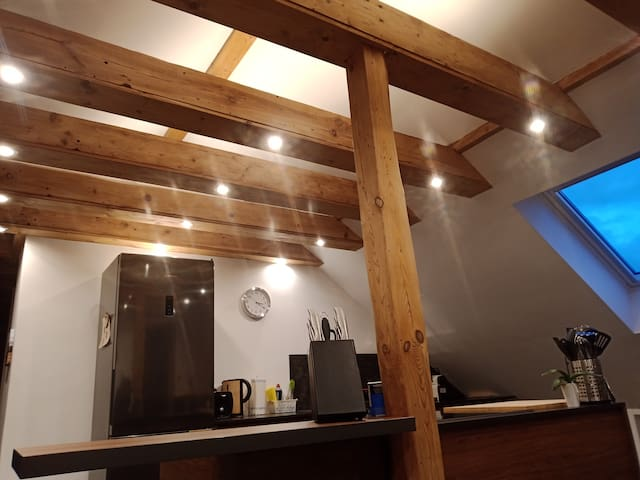 Brand new 1 bed attic apartment in Ramstein