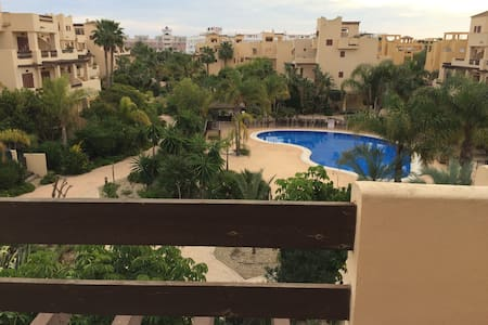 Doble room apartment 500 mts to a sandy beach - Vera - Annat