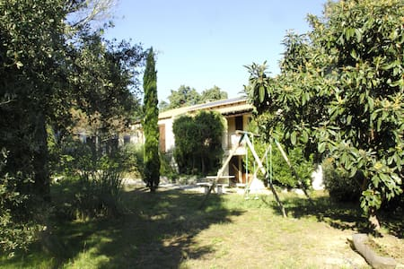 Villa 6 pers-piscine-loc voit - plage 20mn+ski 2h - Sussargues - 別墅