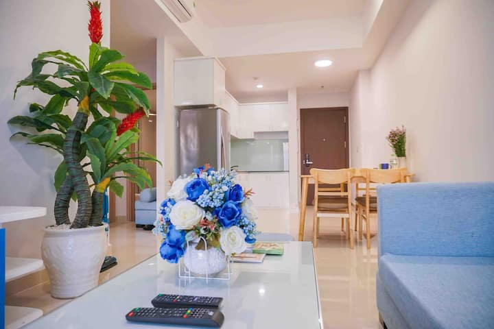 Luxury apartment 2BRs near airport