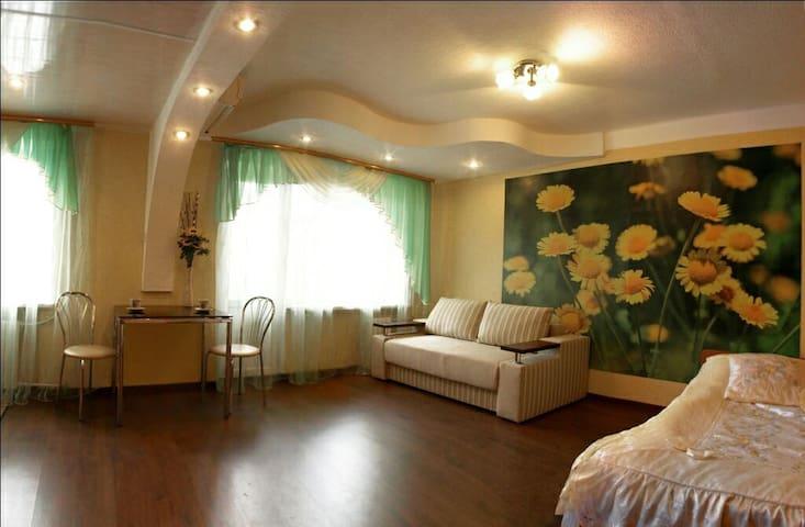 Квартира с ромашками
