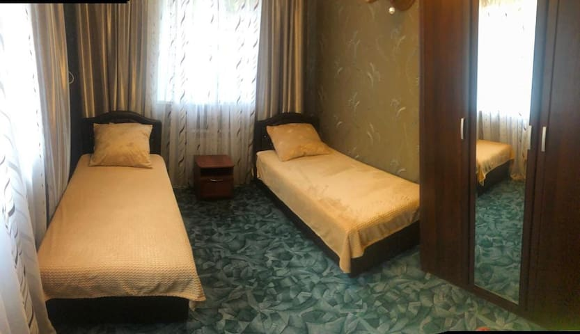 Комната в гостевом доме в самом центре города