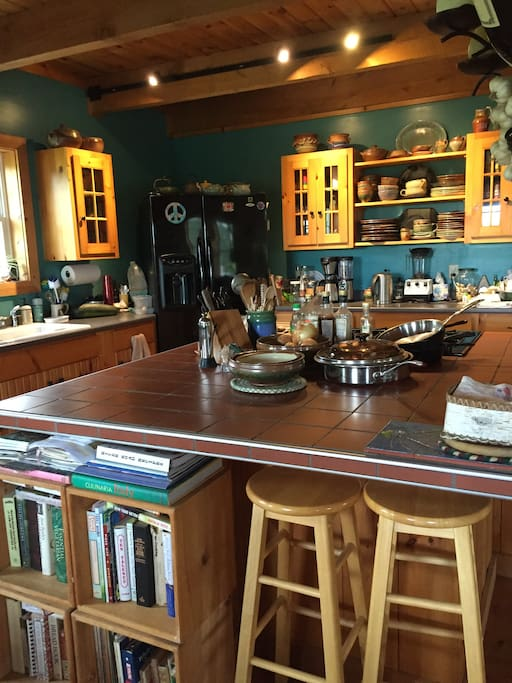 Shared kitchen.