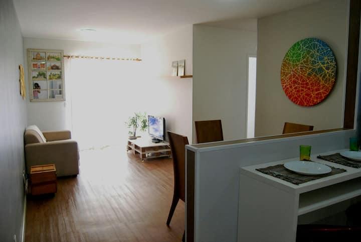 Amplo Apartamento 3 dormitórios e 1 suite