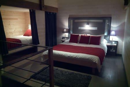 Duplex à la ferme Alpagâterie : esprit cabane chic - Juillac - Natur lodge