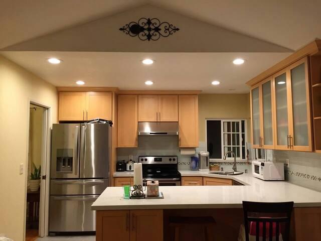 Huge Beautiful Master suite for ladies or families - Newark - Hus