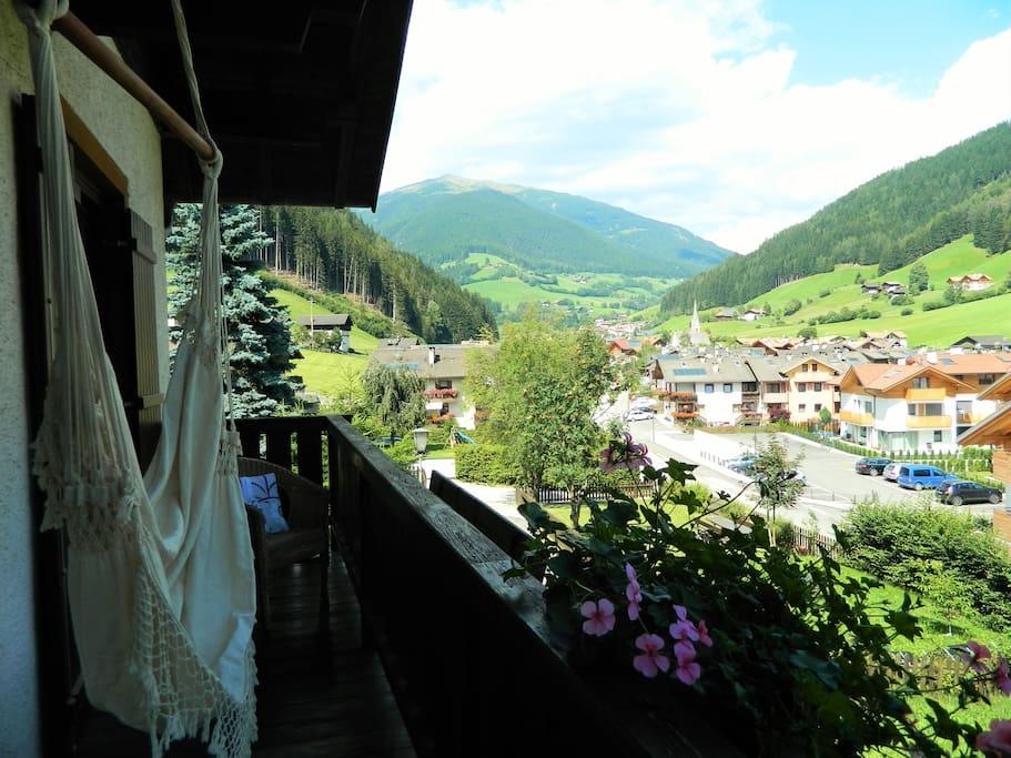 Balkon Sicht Nordheim