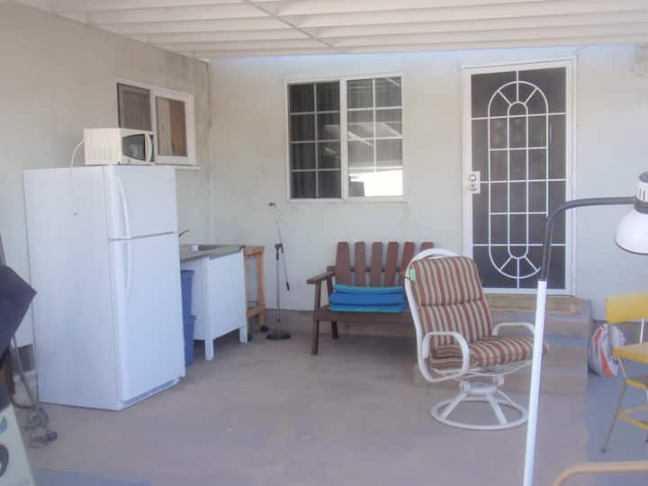 Studio With Kitchen On The Patio, Residential Area