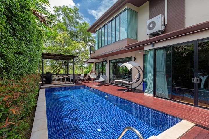 Beautiful private pool villa in Cherngtalay