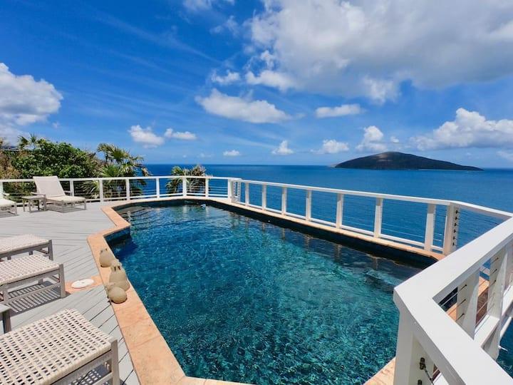 Sea La Vie | Cliffside Villa | 180° Ocean Views
