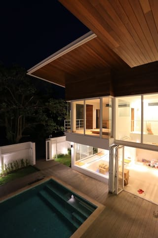 14 Knots I Cozy modern Pool Villa 150m from beach - Tambon Pak Nam Pran - Villa