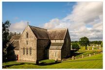 Ballintubber Abbey. 40 mins away