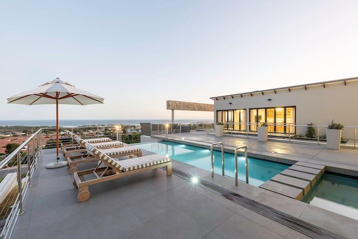 Waterstone Villa set between sea and mountain