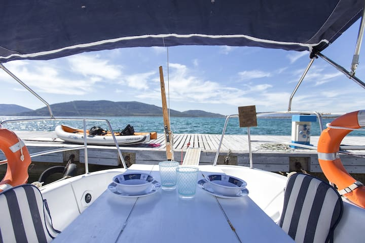 "Sail boat "" Alisea"""