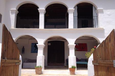 beautiful old finca /guesthouse ! benirras beach!! - Sant Joan de Labritja