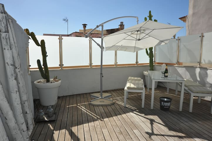 Luxuspenthouse 2687 in Palmas Altstadt - 2 Ebenen - Palma - Apartment