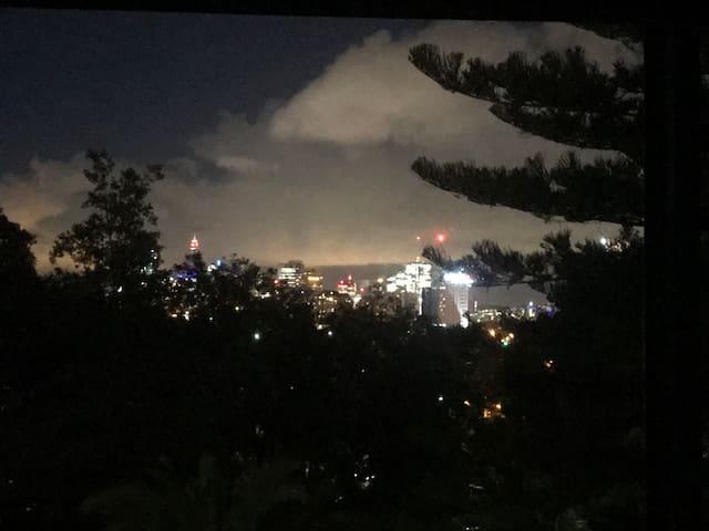 Cosy&quiet place facing Sydney city