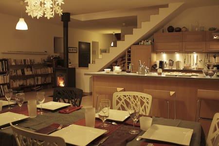 chambre spacieuse dans grand appart - La Roche-sur-Foron - Wohnung