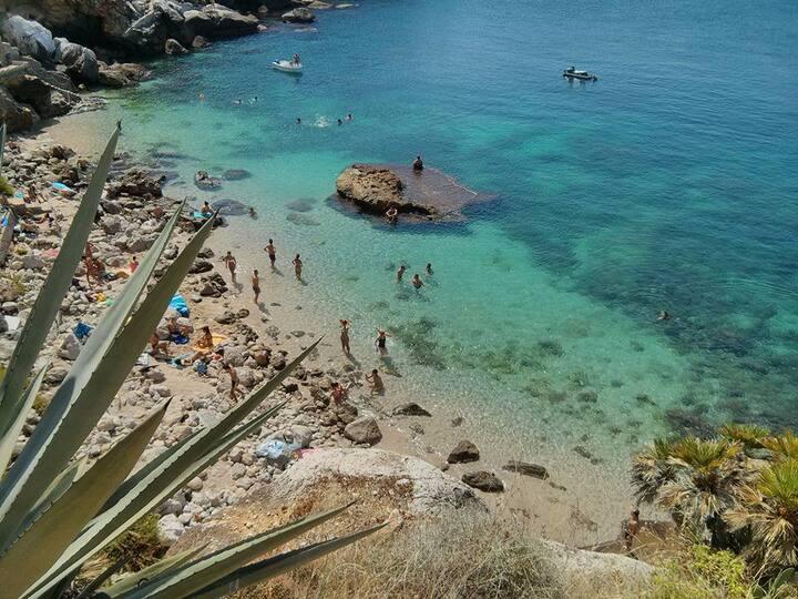 Casa vacanza Mongerbino Aspra Spiaggia Francesi