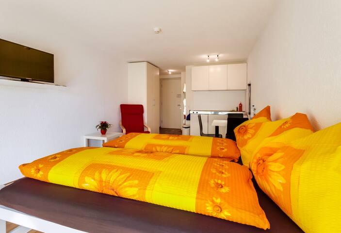 Apartment mit Kochnische und Bad - Lucerna - Domek gościnny