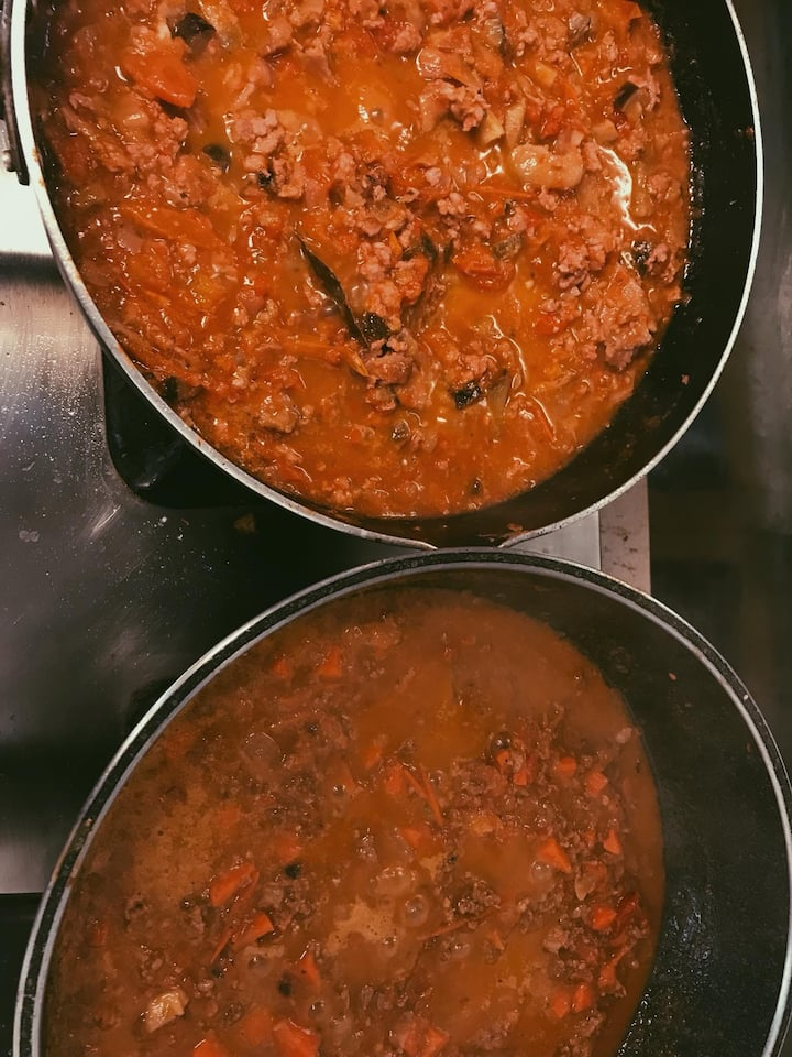 Lanna bolognese with unique ingredients