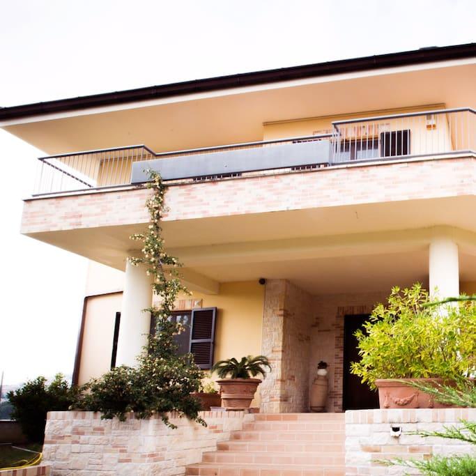 B b casa ciarpella casa appartamenti in affitto a for Costo della costruzione di una casa con 3 camere da letto