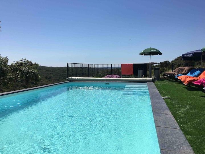 Villa avec piscine et spa en usage exclusif