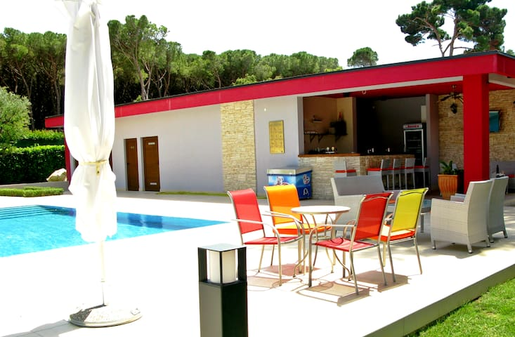 Family room - Mediterranean village - Biograd na Moru - Bed & Breakfast