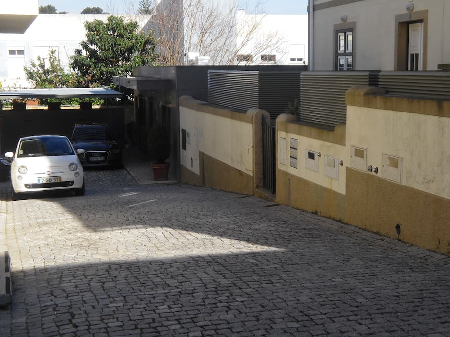 2 - Private parking at the entrance