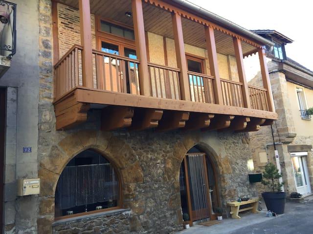 L'atelier, une bâtisse inventoriée de la Bastide