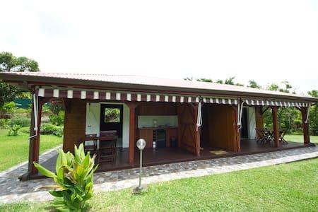 Maison créole locale de Goyave GPE - Goyave - Bungalow