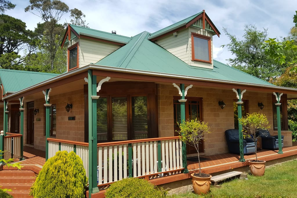 Cascades Manor Katoomba, waiting to welcome you and your guests or family.