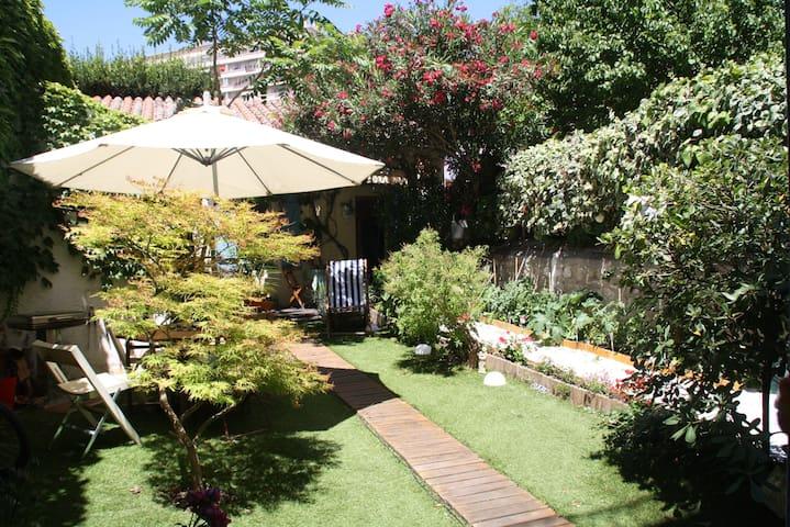 studio indépendant dans un jardin. - Marseille - Wohnung