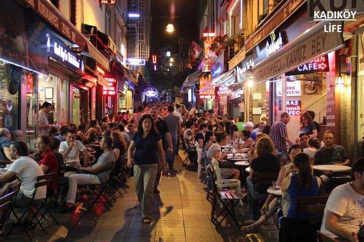 Street of Bars in Kadıkoy