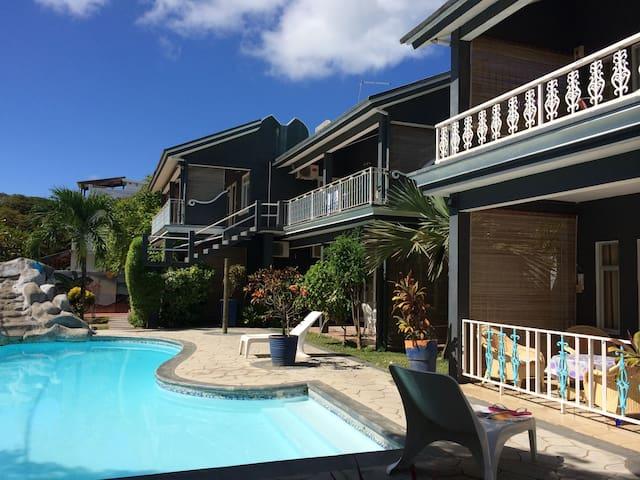 Appartement dans Résidence avec piscine -Péreybère