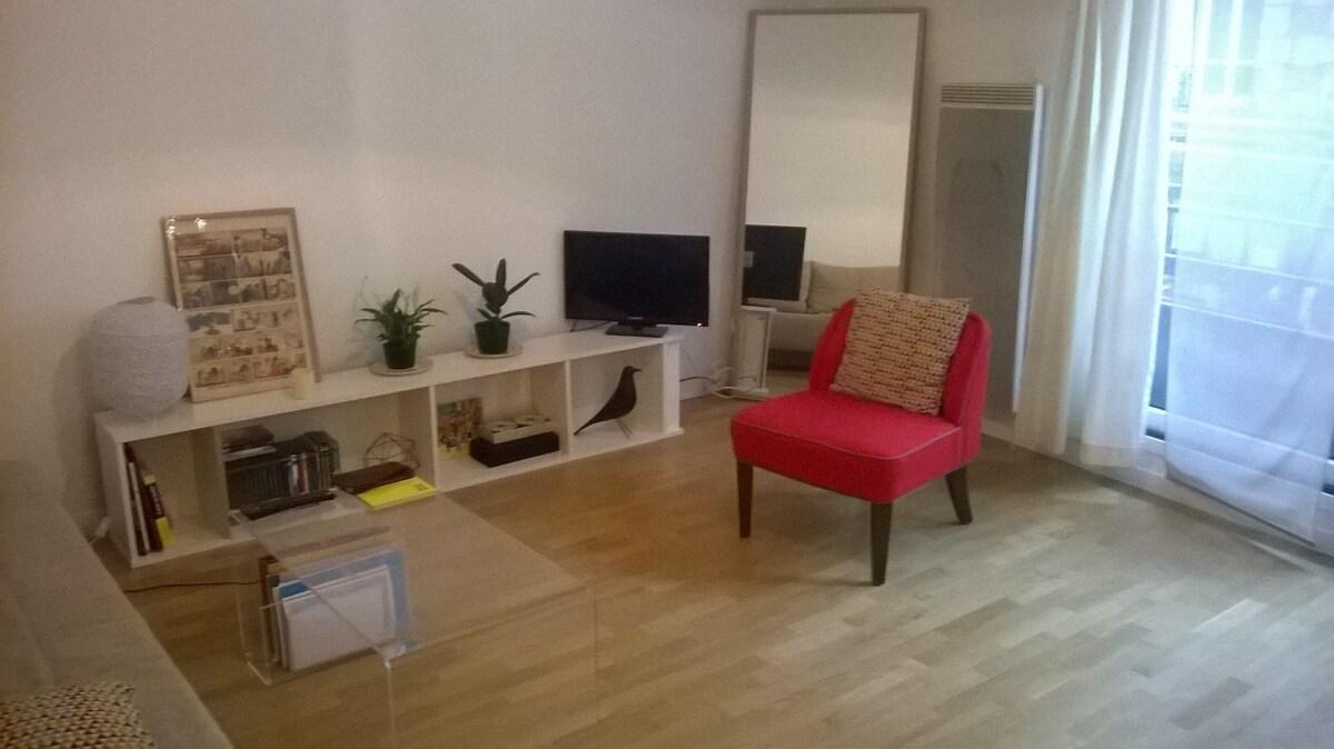 Studio CALME Et SYMPA à Boulogne Billancourt   Apartments For Rent In  Boulogne Billancourt, Île De France, France