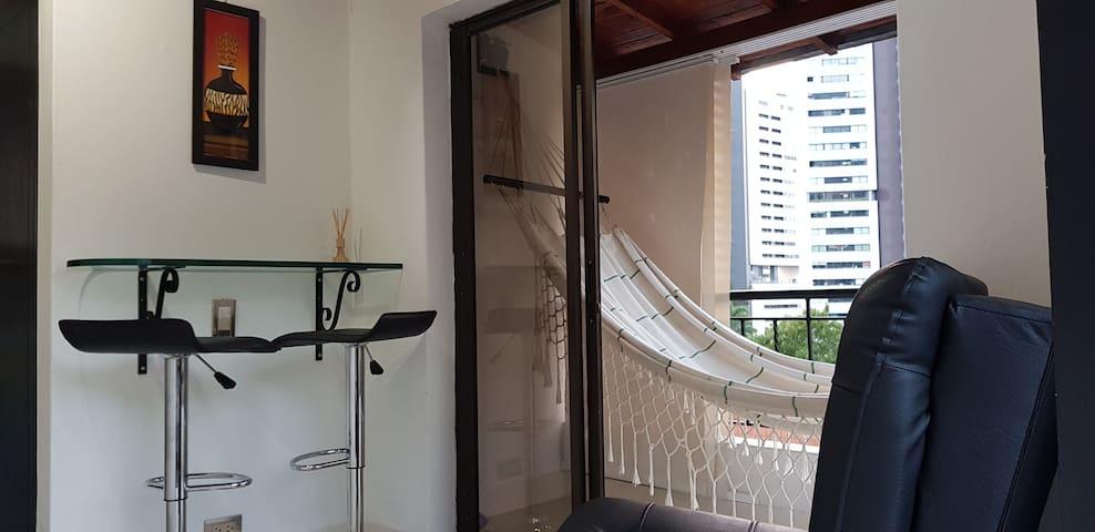 Cozy apartments 304B in the poblado San Lucas