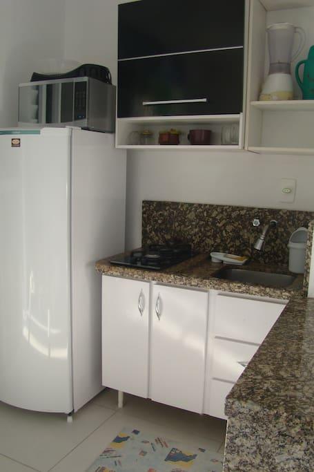 Cozinha  da Kitinete