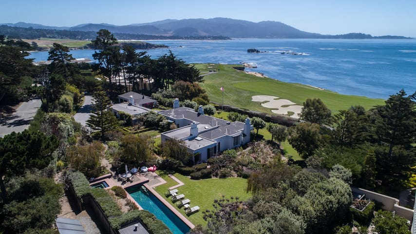 Historic Home on 18th Hole of Pebble Beach Golf