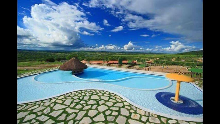 Flat no hotel Fazenda Monte Castelo. - Gravatá - Serviced apartment