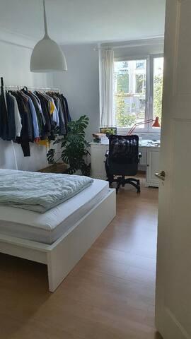 Zentrale, ruhige und helle Wohnung