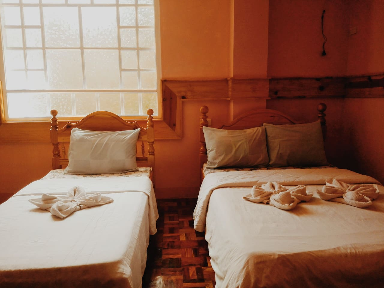 Kapya: A private room at the lower floor of Inandako's BnB