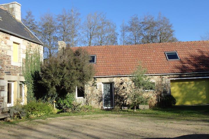 Penty une chambre avec jacuzzi privatif - Pleumeur-Bodou - Haus