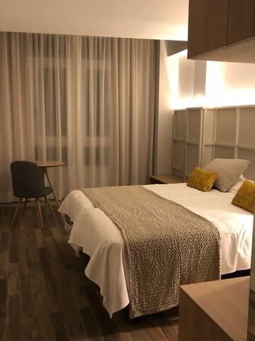 Habitacion individual - Hotel Pousada Real - En la 4ª etapa del Camino Portugués