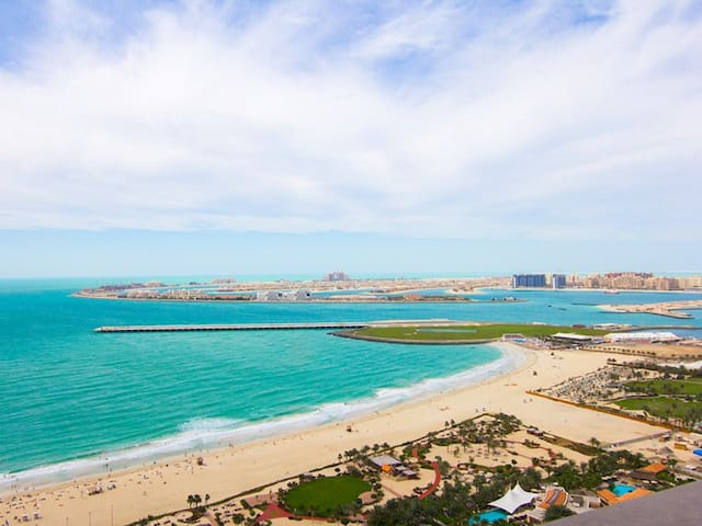 FULL SEAVIEW UPGRADED 2 BEDROOM IN JBR, DUBAI