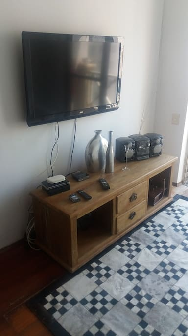 Parte da sala de estar