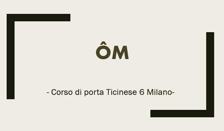 "ÔM MIlano - ""Night&Day"" room"